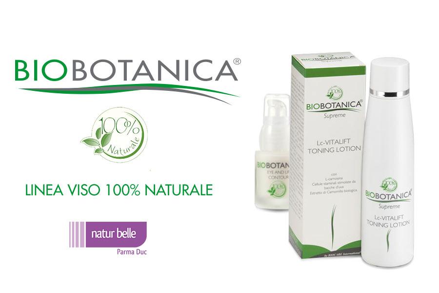 Bio Botanica - Creme viso 100% naturali con attivi vegetali biologici e staminali vegetali
